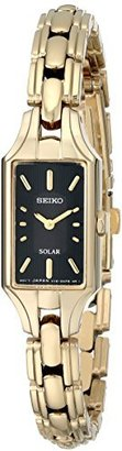 "Seiko Women's SUP166 ""Dress Solar"" Classic  Watch $265 thestylecure.com"