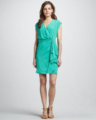 Rachel Zoe Hannah Draped Dress, Mint