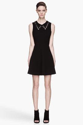 Rag and Bone RAG & BONE Black laced-up Lillian Dress