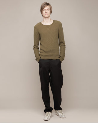 United Bamboo Le Bac by shoulder patch sweater