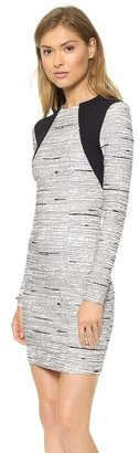 Yigal Azrouel Cut25 by Static Jacquard Knit Dress
