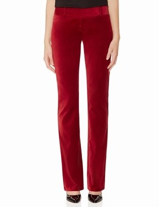 The Limited Cassidy Velvet Bootcut Pants