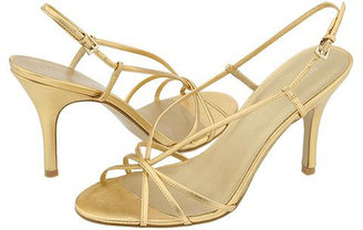 Nine West Dayglow (Gold Leather)