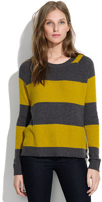 Madewell Leafstitch Crewneck in Stripe
