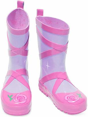 Kidorable Little Girls' Ballet Rain Boots