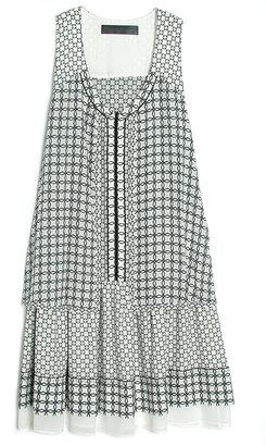 Proenza Schouler Sleeveless Print Dress