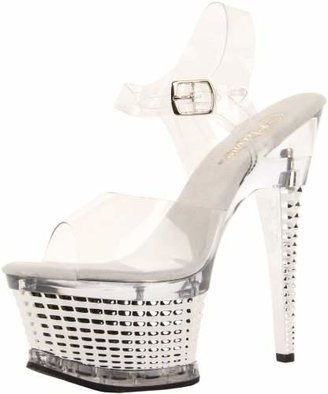 Pleaser USA Women's Illusion-658/C/SCH Platform Sandal