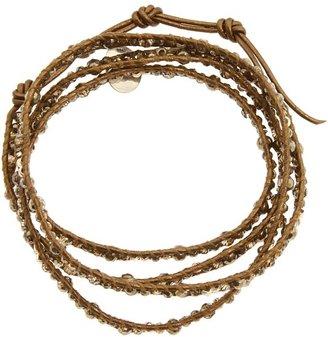 Chan Luu Pyrite Mix Crystal Mix Wrap Bracelet (Pyrite Mix) Bracelet