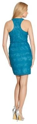 Laundry by Shelli Segal Paloma Stretch Lace Tiered Dress