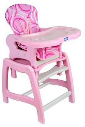 Badger Basket High Chair with Play Table Conversion