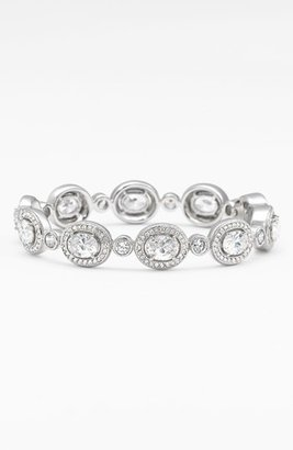 Women's Nadri Oval All Around Hinged Bangle $190 thestylecure.com