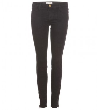 Current/Elliott THE ANKLE SKINNY JEANS WITH ZIPPERED CUFFS