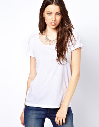 Levi's T-Shirt With Roll Sleeve