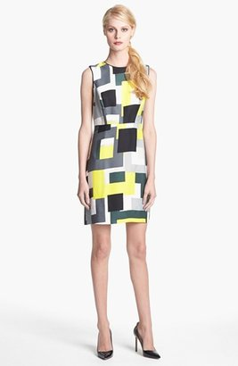 Kate Spade 'della' Sleeveless Print Dress