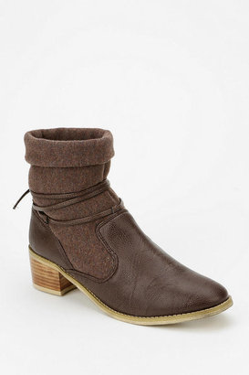 Urban Outfitters Ecote Mixed Slouch Ankle Boot