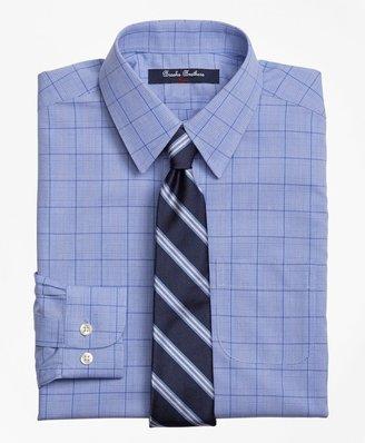 Brooks Brothers Boys Non-Iron Supima Cotton Broadcloth Plaid Dress Shirt
