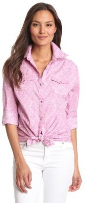 Wrangler Women's Tough Enough To Wear Long Sleeve Shirt
