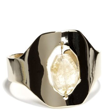 The Limited Stone Window Cuff Bracelet