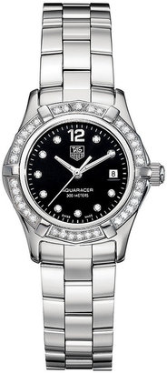 Tag Heuer Watch, Women's Aquaracer Stainless Steel Bracelet 27mm WAF141D.BA0824