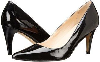 Cole Haan Air Juliana Pump 75 (Black Patent) - Footwear