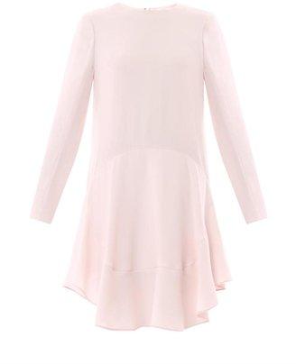 Chloé Ruffle-skirt shift dress