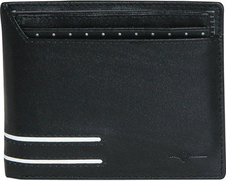 JCPenney Buxton Luciano Thinfold RFID Leather Wallet