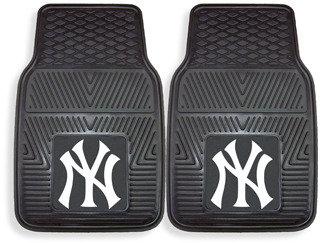New York Yankees MLB Vinyl Car Mats (Set of 2)
