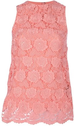 Christopher Kane floral lace tank top