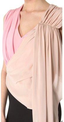Vionnet Detailed Sleeveless Dress