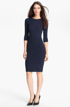 Theory 'Faviana' Silk Blend Sheath Dress