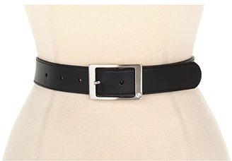 Nike Rhinestone Harness Reversible (Black/White) Women's Belts