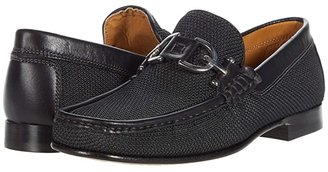 Donald J Pliner Dacio (Black/Black) Men's Slip-on Dress Shoes