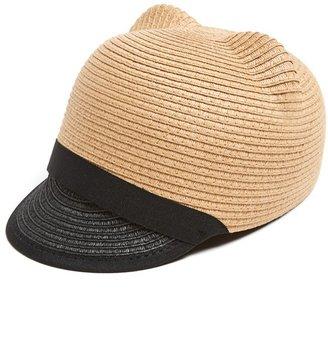 Leith Cat Ear Straw Hat