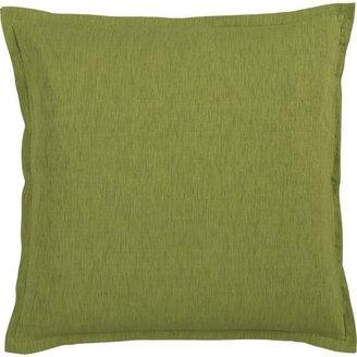 "Crate & Barrel Linden Green 23"" Pillow"
