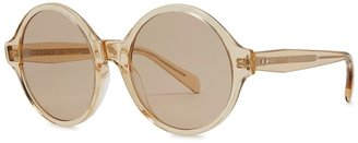 Celine Honey Round-frame Sunglasses