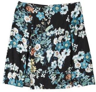 Xhilaration Junior's A-line Skirt - Floral