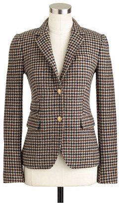 J.Crew Schoolboy blazer in houndstooth tweed
