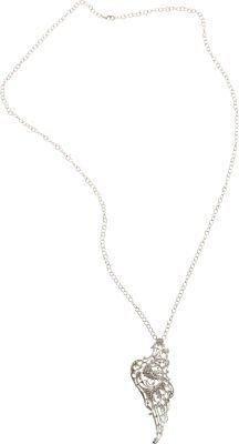 Ileana Makri i aM White Gold Wing Pendant Necklace
