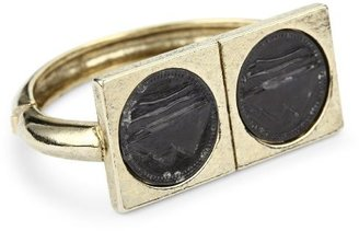Low Luv x Erin Wasson by Erin Wasson Double Coin Square Cuff Bracelet