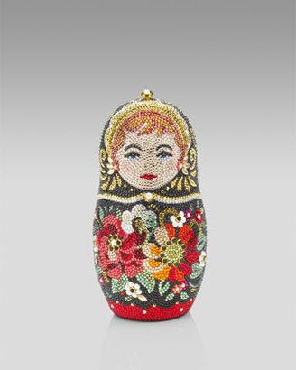 Judith Leiber Russian Doll Minaudiere