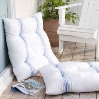 The White Company Kitts Stripe Scatter Cushion