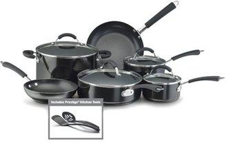 Farberware 12-pc. Nonstick Millenium Aluminum Cookware Set, Black