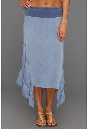 XCVI Suzette Skirt (Denim Blue) - Apparel