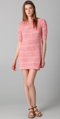 See by Chloe Short Sleeve Sweater Dress