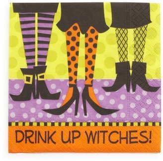 Sur La Table Drink Up Witches Paper Cocktail Napkins