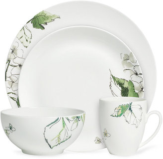 Vera Wang Wedgwood Dinnerware, Floral Leaf 4 Piece Place Setting