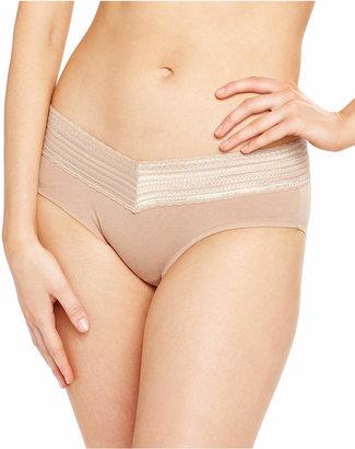 Warner's Warner No Pinches No Problems Cotton Lace Hipster Underwear RU1091P
