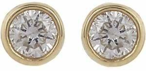 Jennifer Meyer Women's Diamond Bezel Stud Earrings