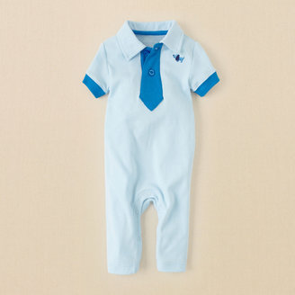 Children's Place Polo tie coverall