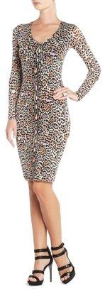 BCBGMAXAZRIA Tori V-Neck Dress